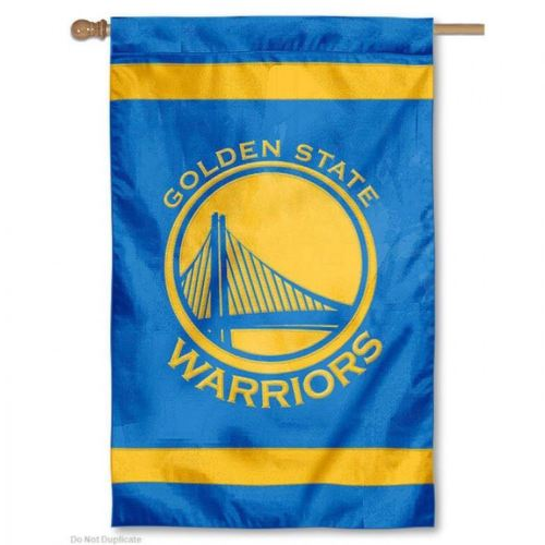 "Party Animal NBA Golden State Warriors 28"" x 44"" House Banner Flag"