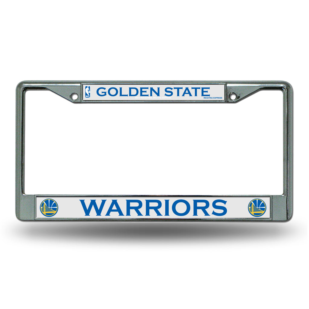 Rico NBA Golden State warriors Auto Tag Chrome Frame FC