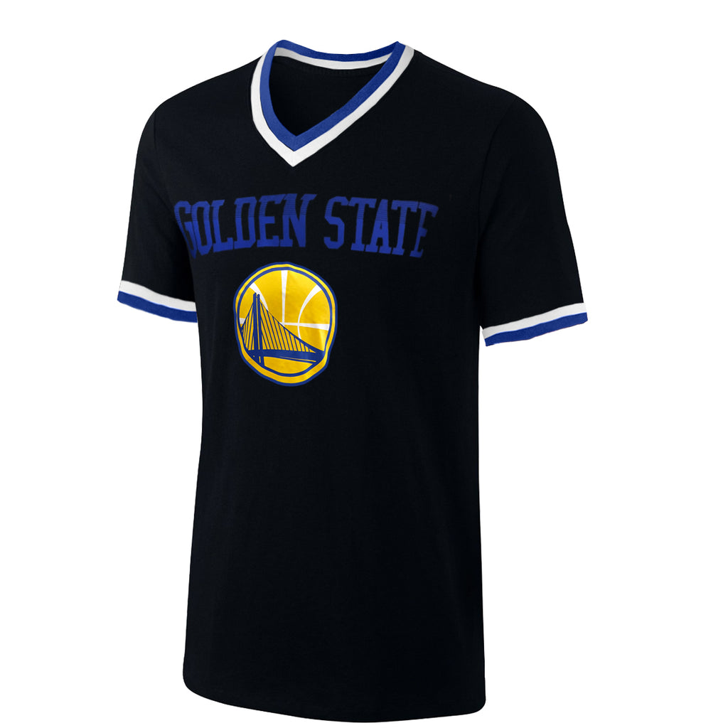 UNK NBA Men's Golden State Warriors V-Neck T-Shirt