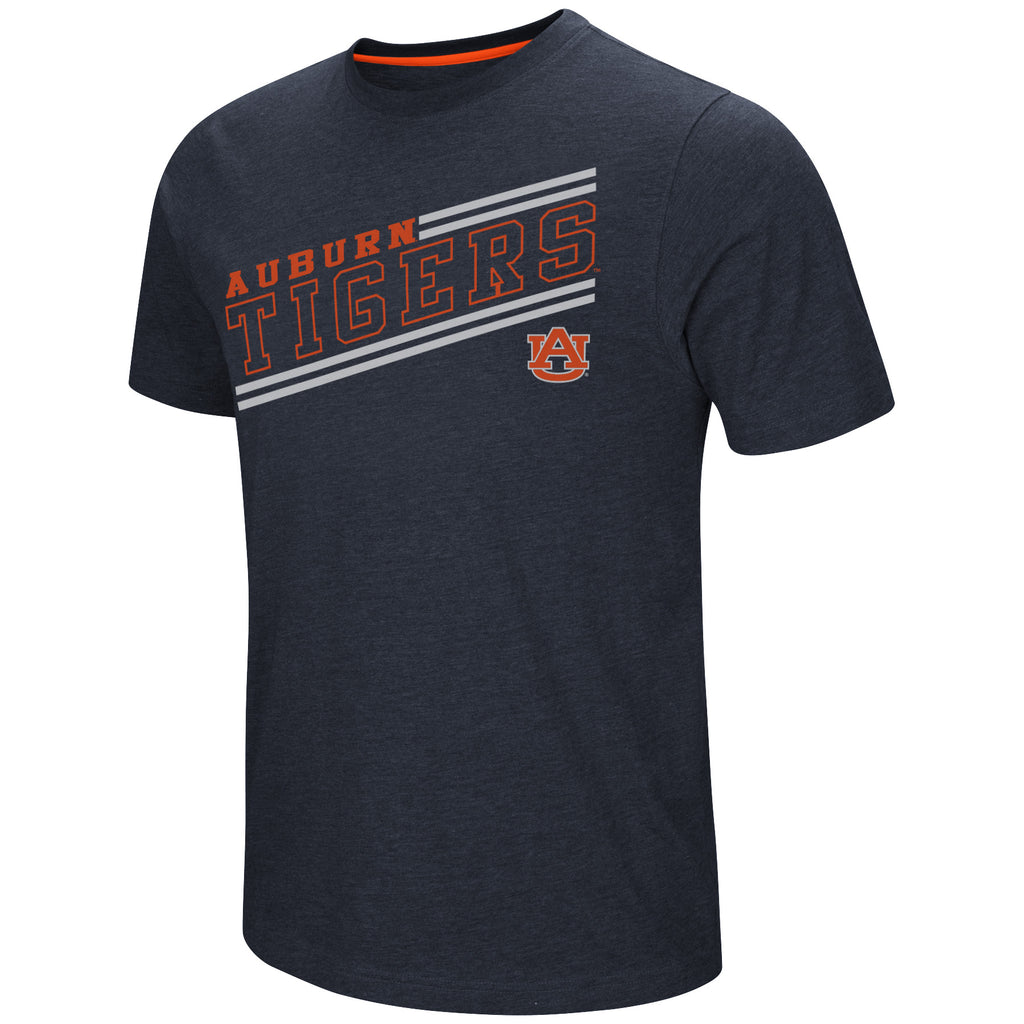 Colosseum NCAA Men's Auburn Tigers Fly Ball T-Shirt