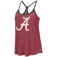Colosseum NCAA Women's Alabama Crimson Tide Clearly Inside Reversible Tank Top