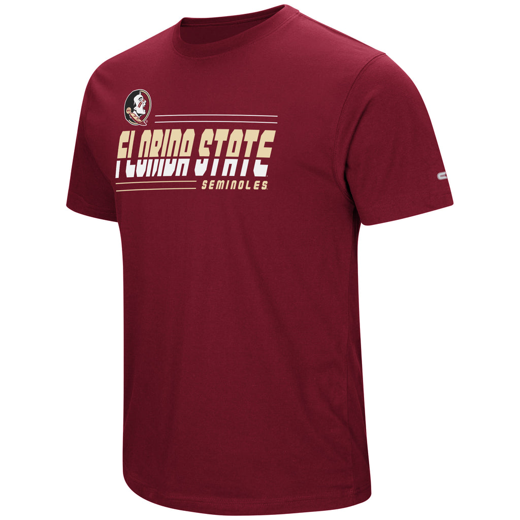 Colosseum NCAA Men's Florida State Seminoles Throw The Hammer T-Shirt