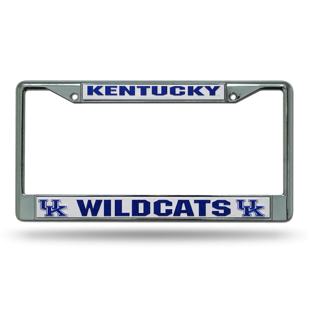 Rico NCAA Kentucky Wildcats Auto Tag Chrome Frame FC