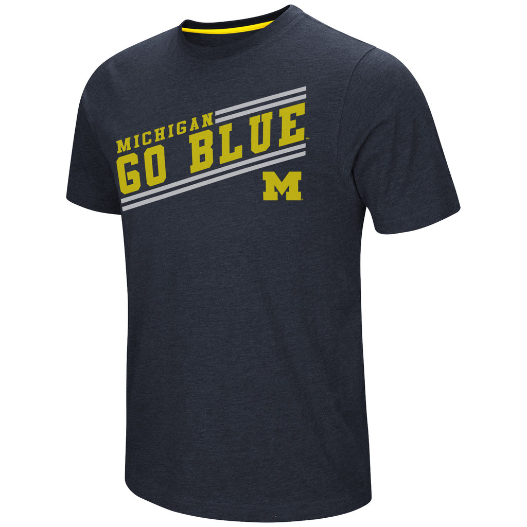 Colosseum NCAA Men's Michigan Wolverines Fly Ball T-Shirt