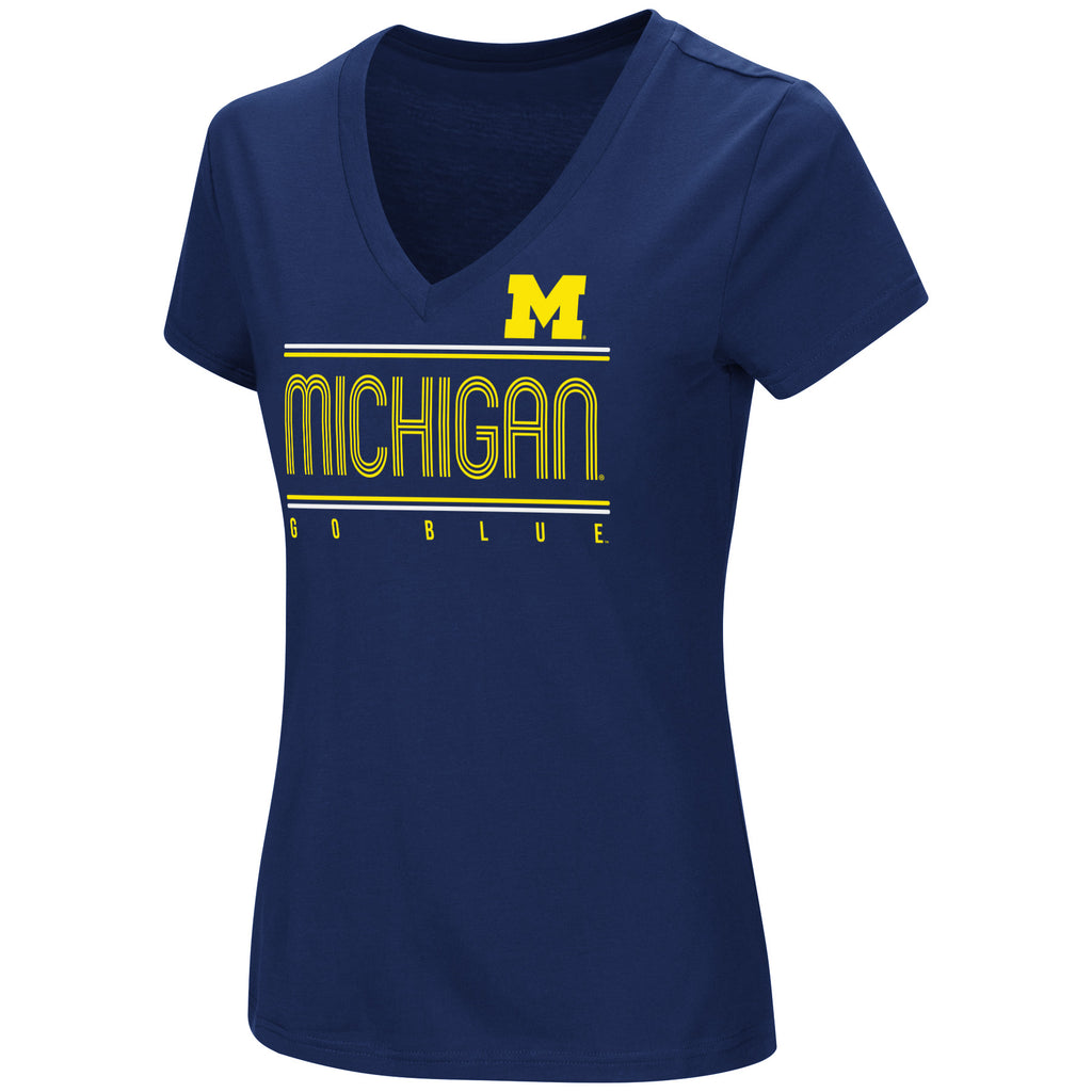 Colosseum NCAA Women's Michigan Wolverines How Good Am I T-Shirt