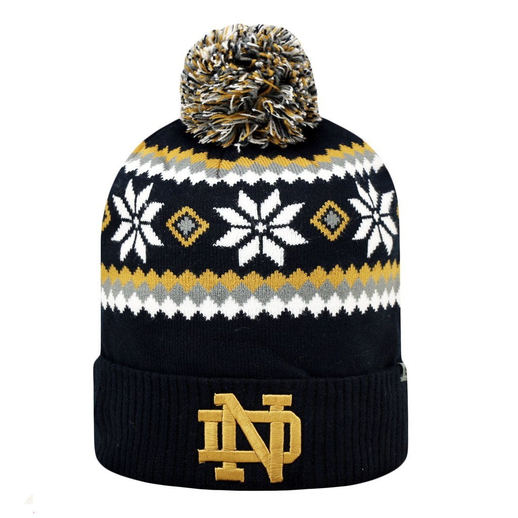 Top Of The World NCAA Men's Notre Dame Fighting Irish Fogbow Knit Beanie