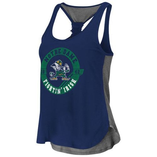 Colosseum NCAA Women's Notre Dame Fighting Irish Twistback Tank