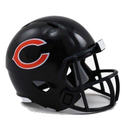 Riddell NFL Chicago Bears Mini Pocket Pro Helmet