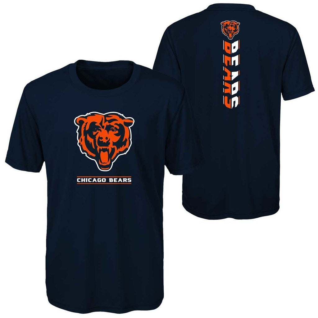 Outerstuff NFL Chicago Bears Youth Lift Off  Dri-Tek T-Shirt