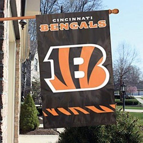 Party Animal NFL Cincinnati Bengals 28 x 44 House Banner Flag