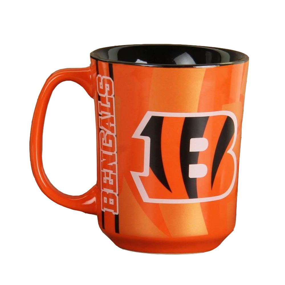 The Memory Company NFL Cincinnati Bengals Reflective Mug Orange 11 oz