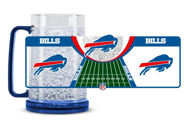 Duck House NFL Buffalo Bills Crystal Freezer Fun Mug