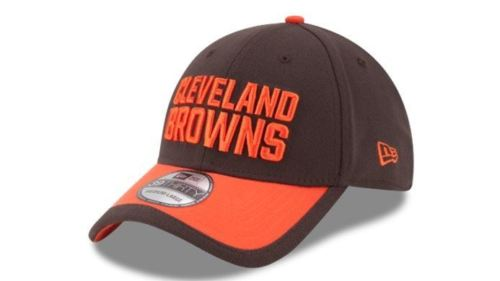 New Era NFL Men's Cleveland Browns 2015 On-Field Performance 39THIRTY Flex Hat