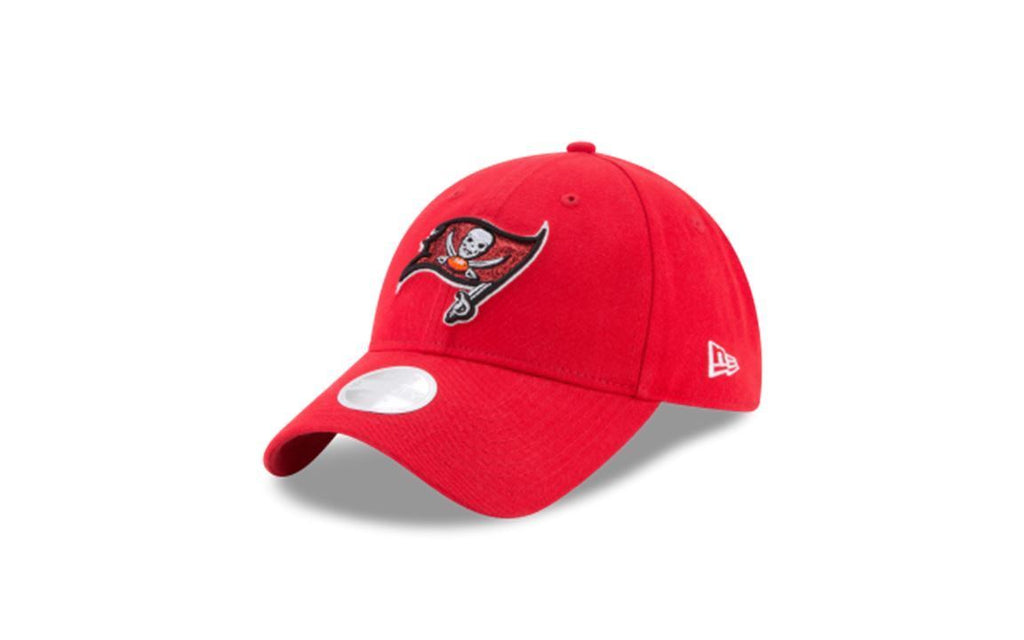 New Era Women's NFL Tampa Bay Buccaneers Team Glisten 9TWENTY Adjustable Hat