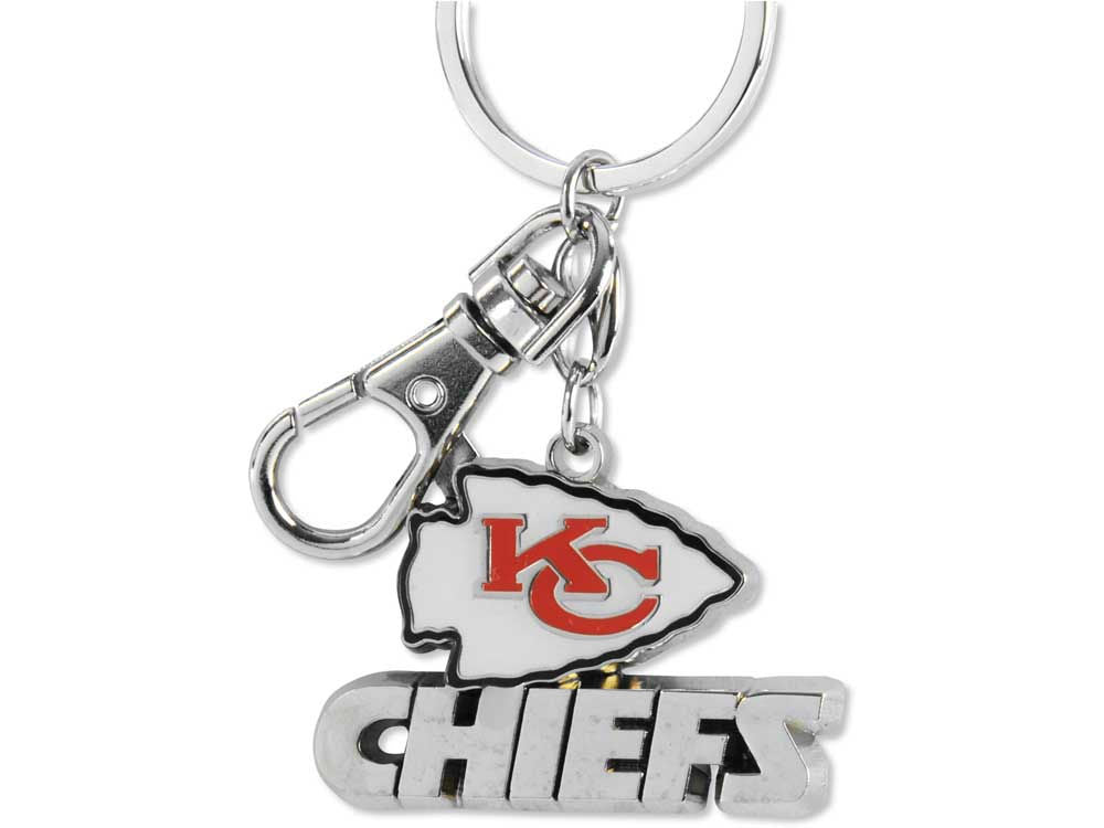 Aminco NFL Kansas City Chiefs Heavyweight Keychain
