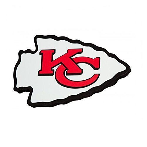 Fan Fave NFL Kansas City Chiefs 3D Logo Foam Magnet