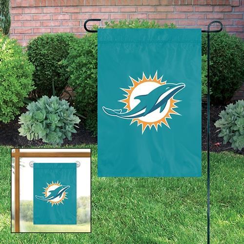 Party Animal NFL Miami Dolphins Garden Flag