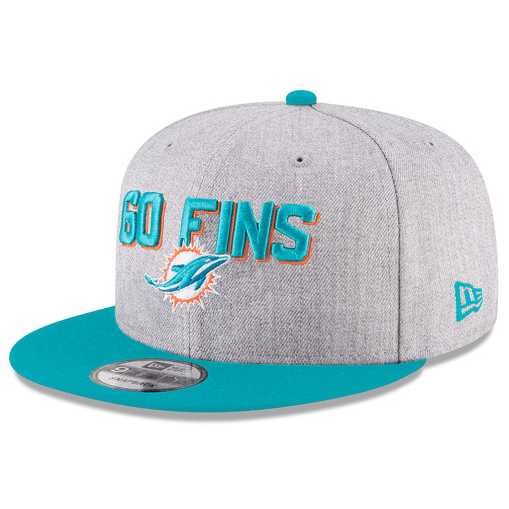 030854919 New Era NFL Men s Miami Dolphins NFL  18 Draft On Stage 9FIFTY Adjustable Snapback  Hat