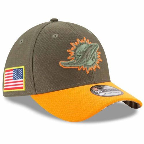 ... clearance new era nfl miami dolphins 2017 salute to service 39thirty flex  fit hat a82a8 e06c1 61806141500e