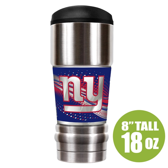 Great American Products NFL New York Giants The MVP Insulated Tumbler Stainless Steel 18oz