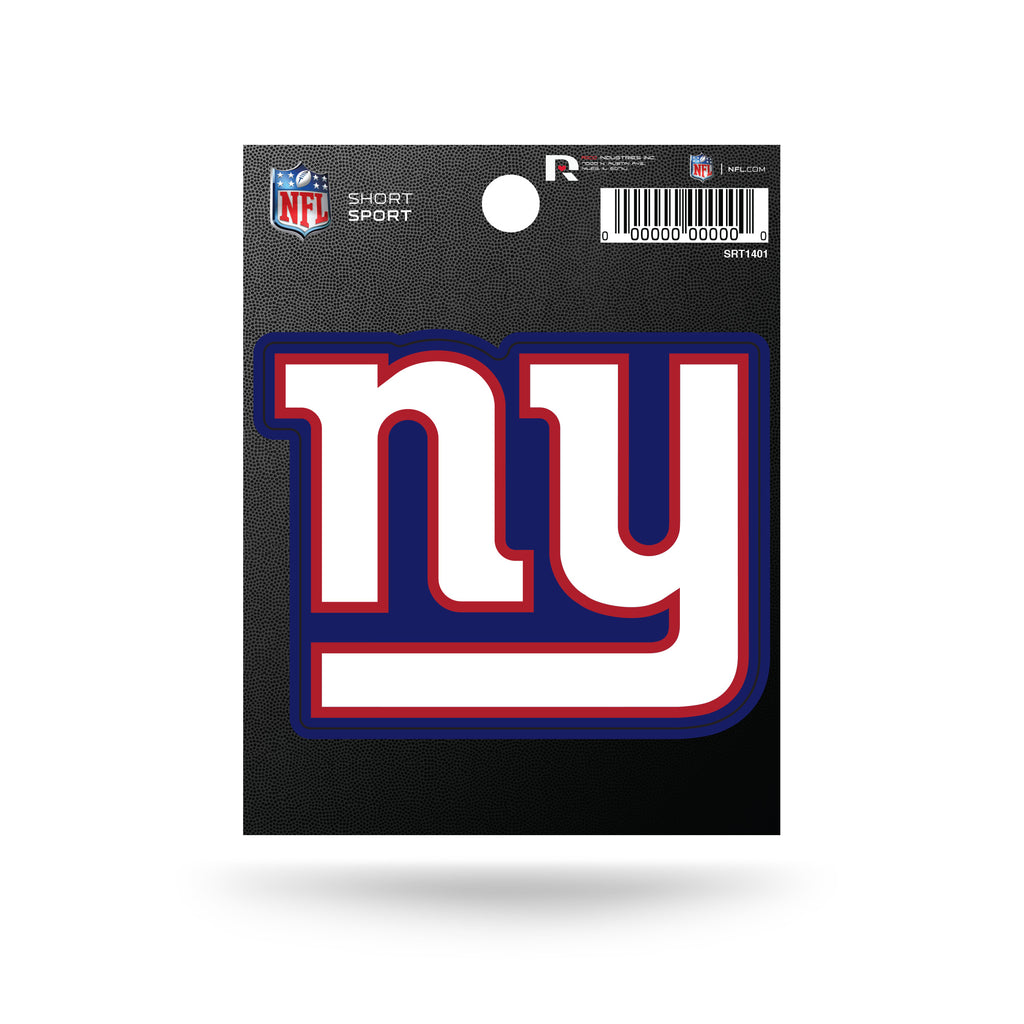 Rico NFL New York Giants Die Cut Auto Decal Car Sticker Small SRT