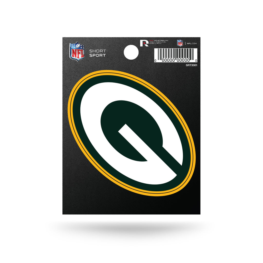 Rico NFL Green Bay Packers Die Cut Auto Decal Car Sticker Small SRT
