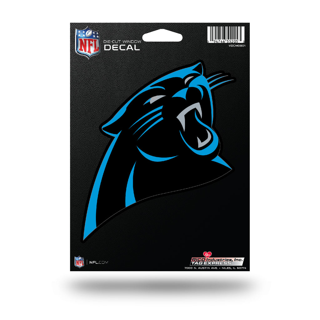 Rico NFL Carolina Panthers Die Cut Auto Decal Car Sticker Medium VDCM