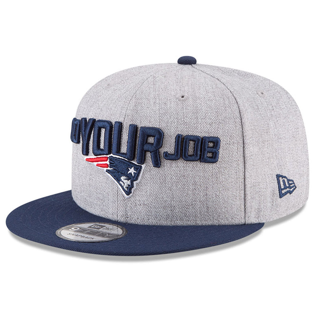 New Era NFL Men's New England Patriots NFL '18 Draft On Stage 9FIFTY Adjustable Snapback Hat