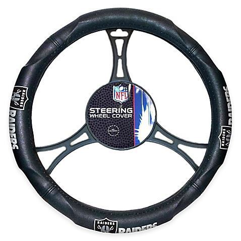 The Northwest Company NFL Oakland Raiders Steering Wheel Cover