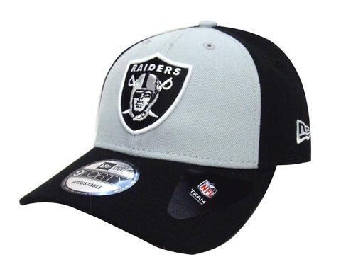 New Era Men's NFL Oakland Raiders  The League Blockd 9FORTY Adjustable Hat