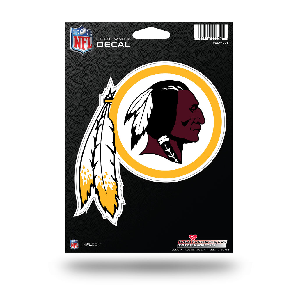 Rico NFL Washington Redskins Die Cut Auto Decal Car Sticker Medium VDCM