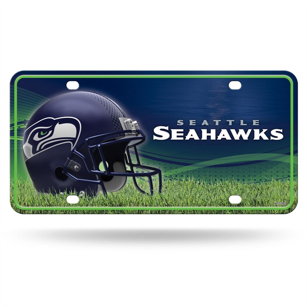 Rico NFL Seattle Seahawks Auto Metal Tag Car License Plate MTG