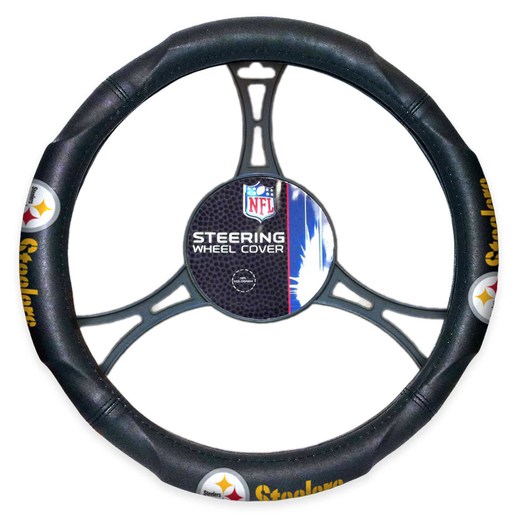 The Northwest Company NFL Pittsburgh Steelers Steering Wheel Cover
