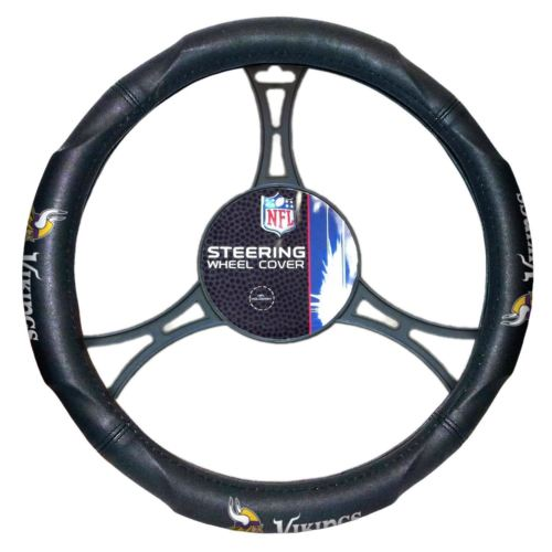 The Northwest Company NFL Minnesota Vikings Steering Wheel Cover