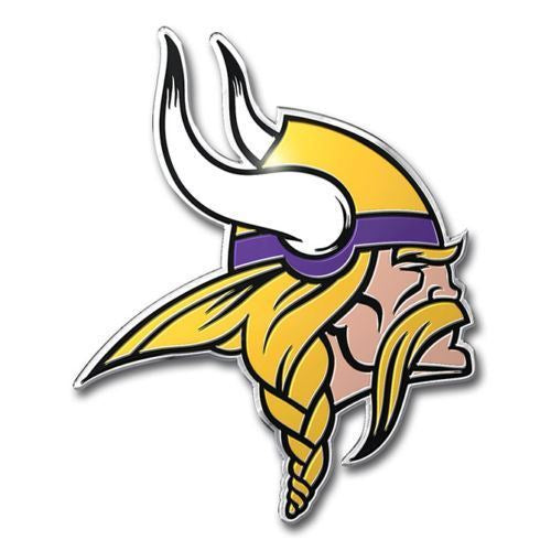 Team ProMark NFL Minnesota Vikings Team Auto Emblem