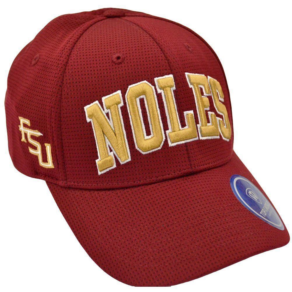 Top Of The World NCAA Men's Florida State Seminoles (FSU) So Clean Adjustable Hat Cardinal One Size