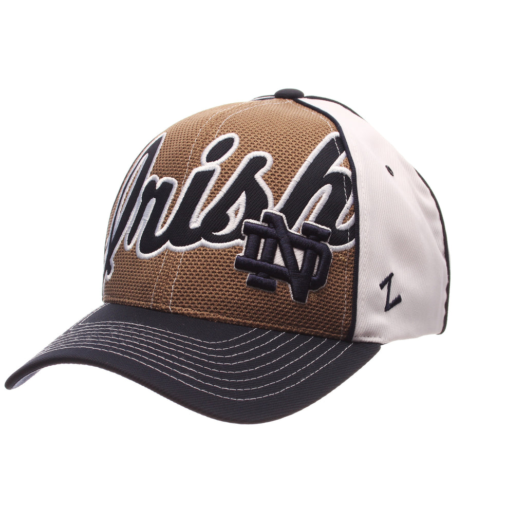 Zephyr NCAA Men's Notre Dame Fighting Irish Uprising Adjustable Hat