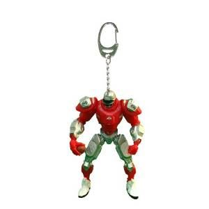 Foam Fanatics NCAA Ohio State Buckeyes 3-Inch Fox Sports Team Robot Key Chain