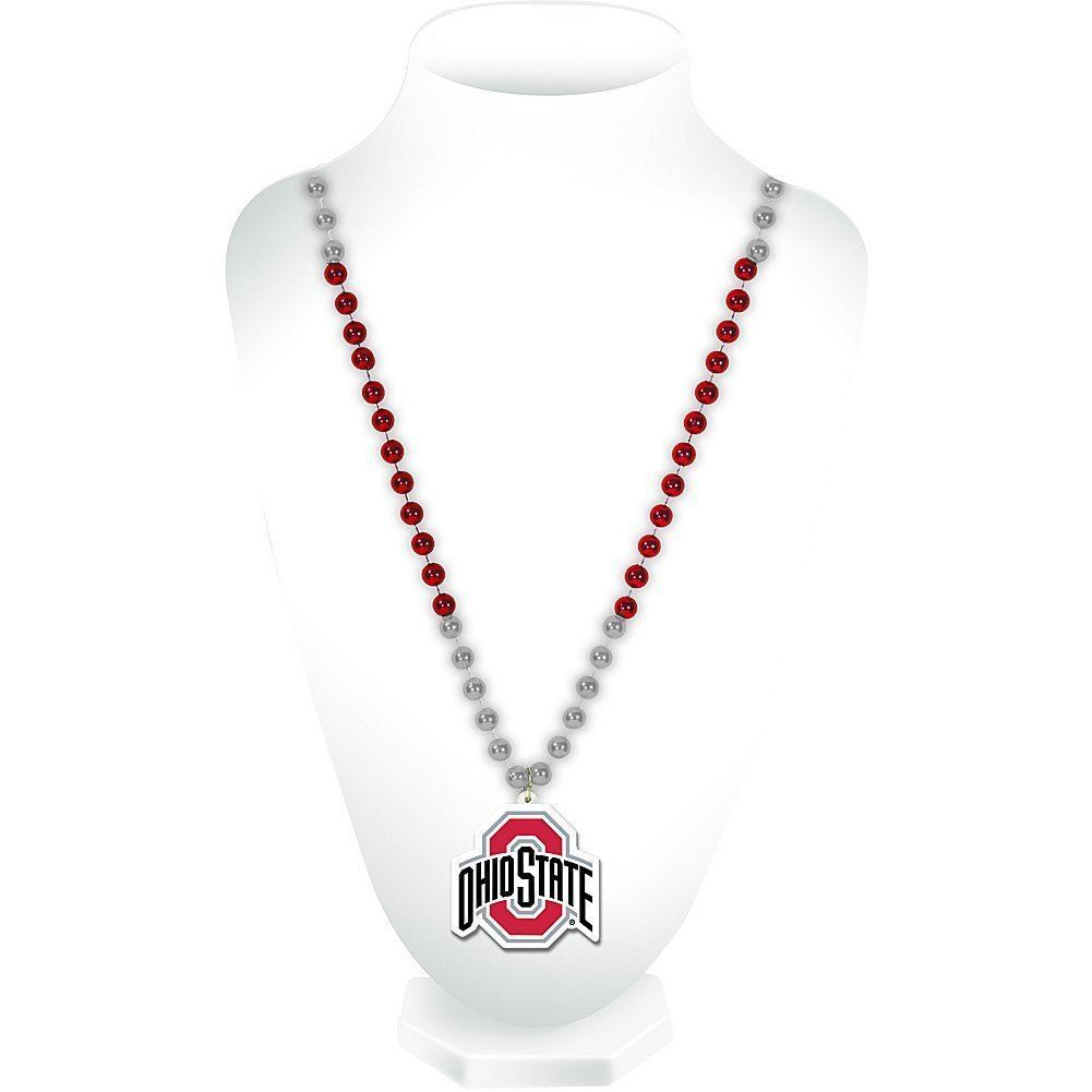 Rico NCAA Ohio State Buckeyes Beads with Logo Medallion