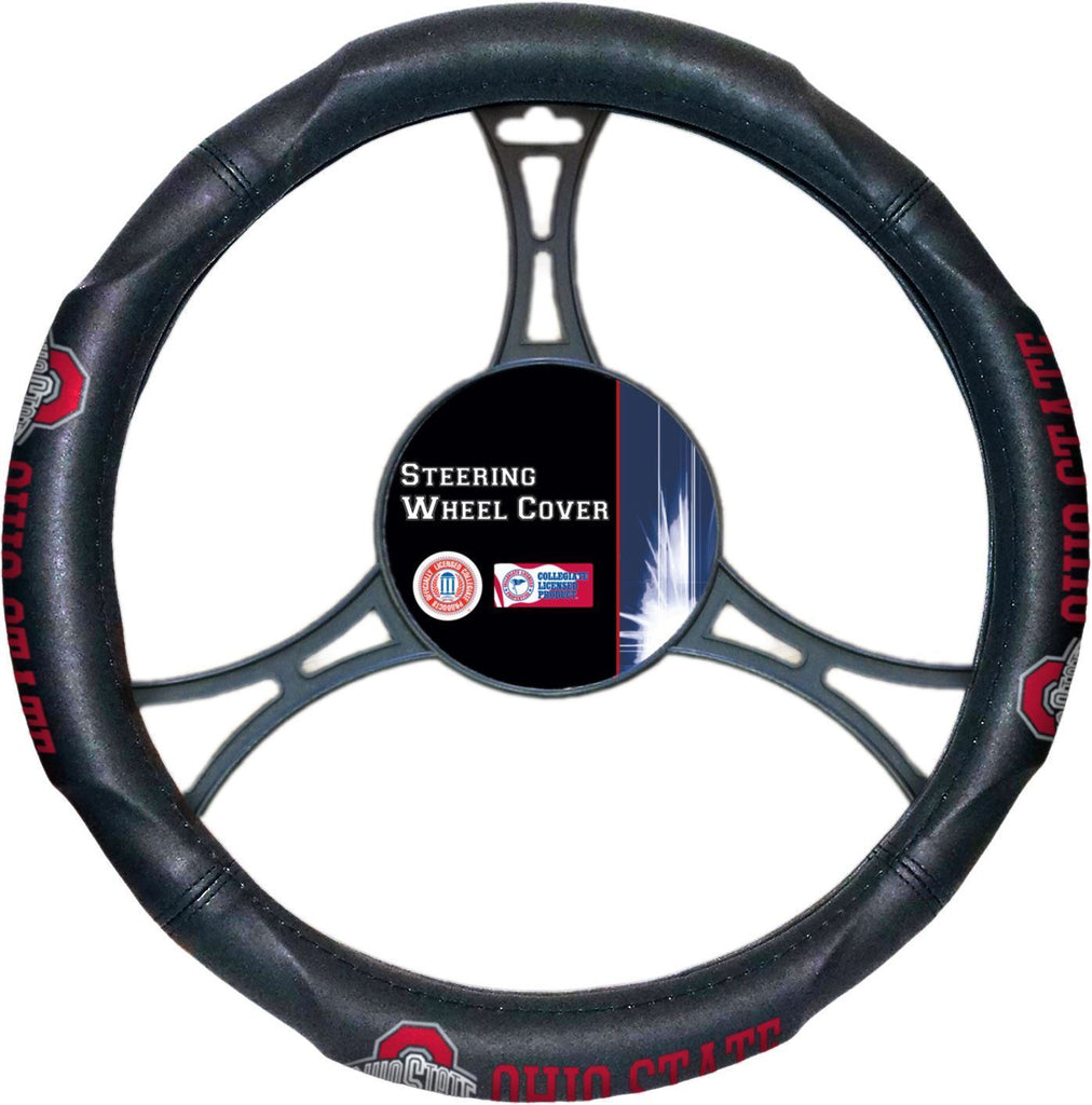 The Northwest Company NCAA Ohio State Steering Wheel Cover