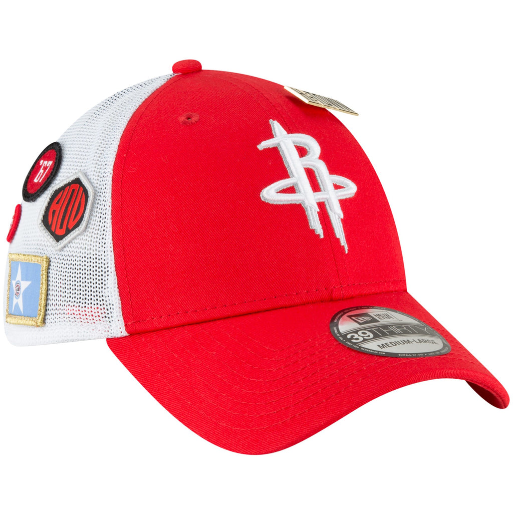 New Era NBA Men's Houston Rockets 2018 NBA Draft Hat 39THIRTY Flex Fit Hat