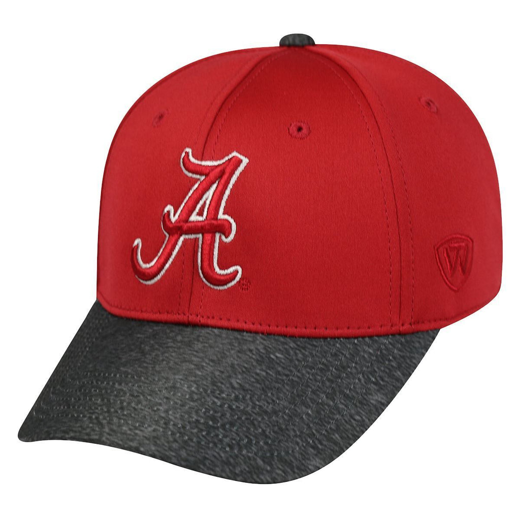 Top Of The World NCAA Men's Alabama Crimson Tide Lightspeed Stretch Hat One Fit
