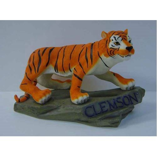 Meico NCAA Clemson Tigers The Tiger Small Mascot Figurine