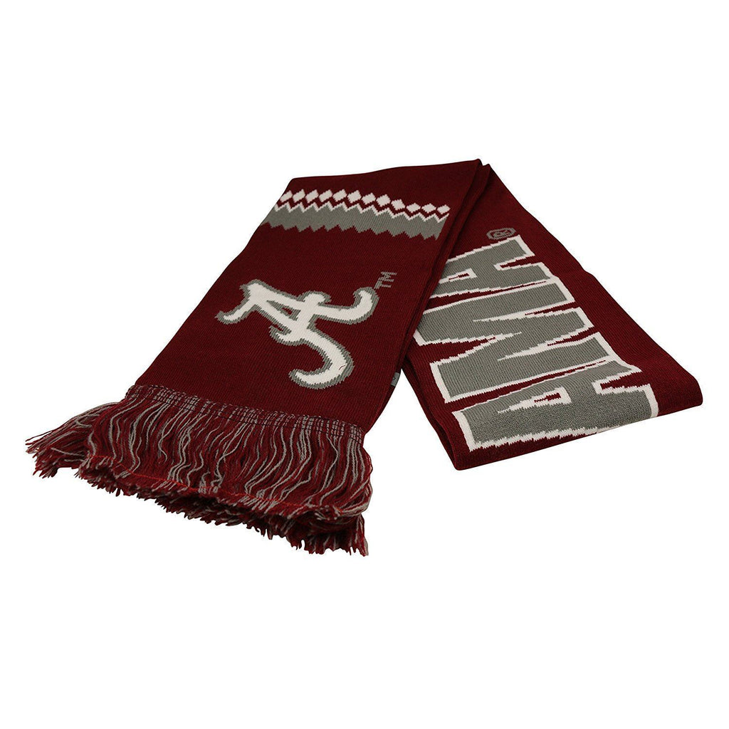 Top Of The World NCAA Alabama Crimson Tide Polar Vortex Scarf
