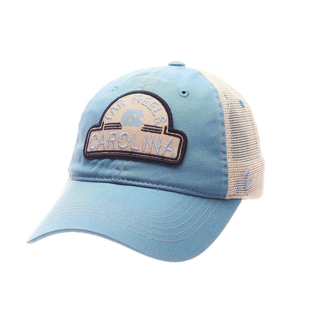 Zephyr NCAA North Carolina Tar Heels Route Mesh Relaxed Ajustable Hat