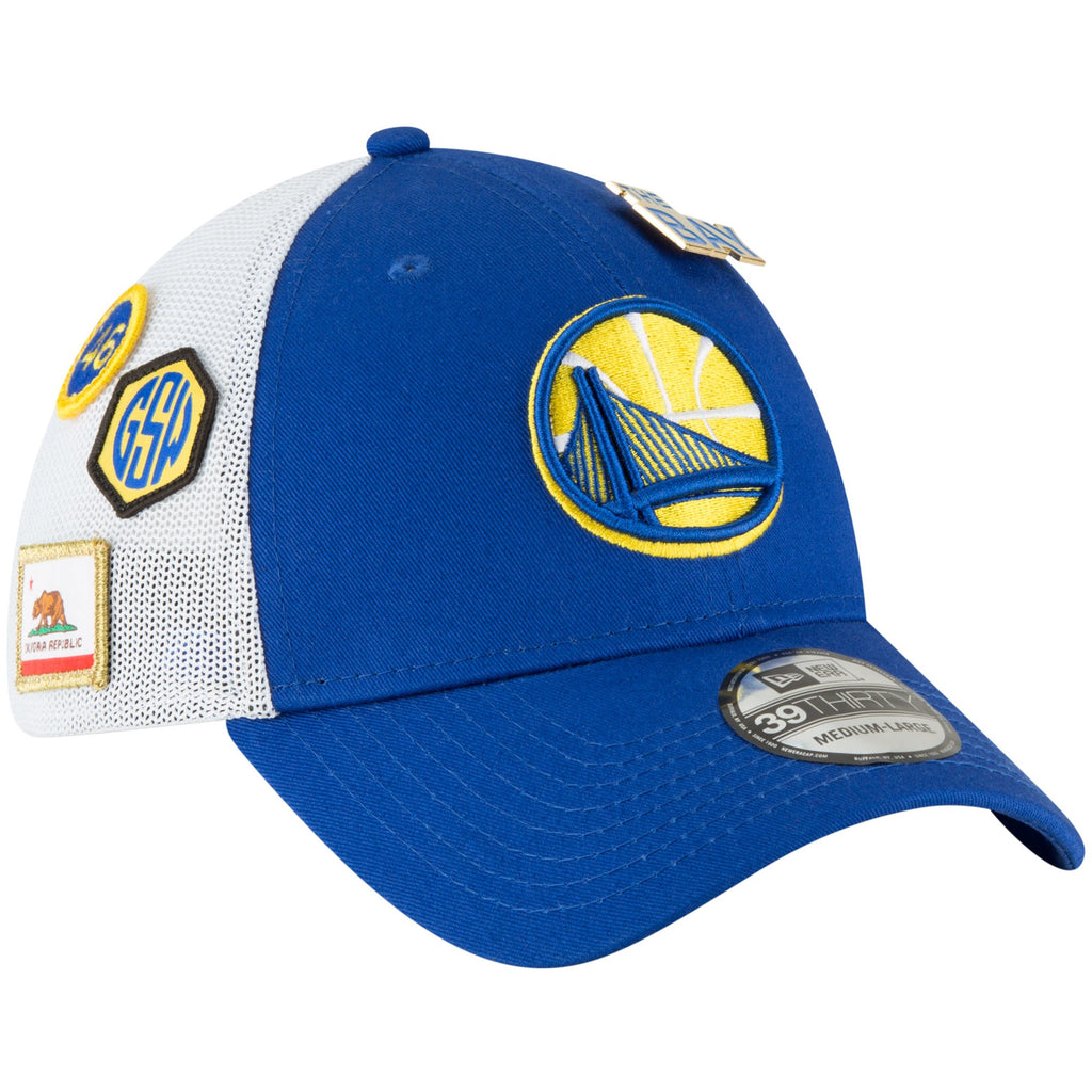 4f1c5065aed88 ... canada new era nba mens golden state warriors 2018 nba draft hat  39thirty flex fit hat