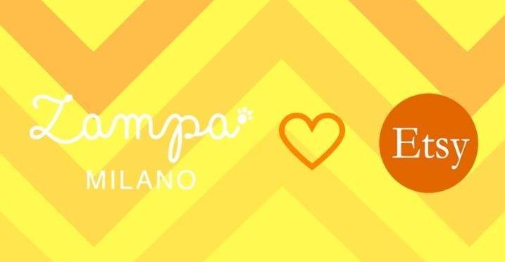ZAMPA MILANO LOVES ETSY