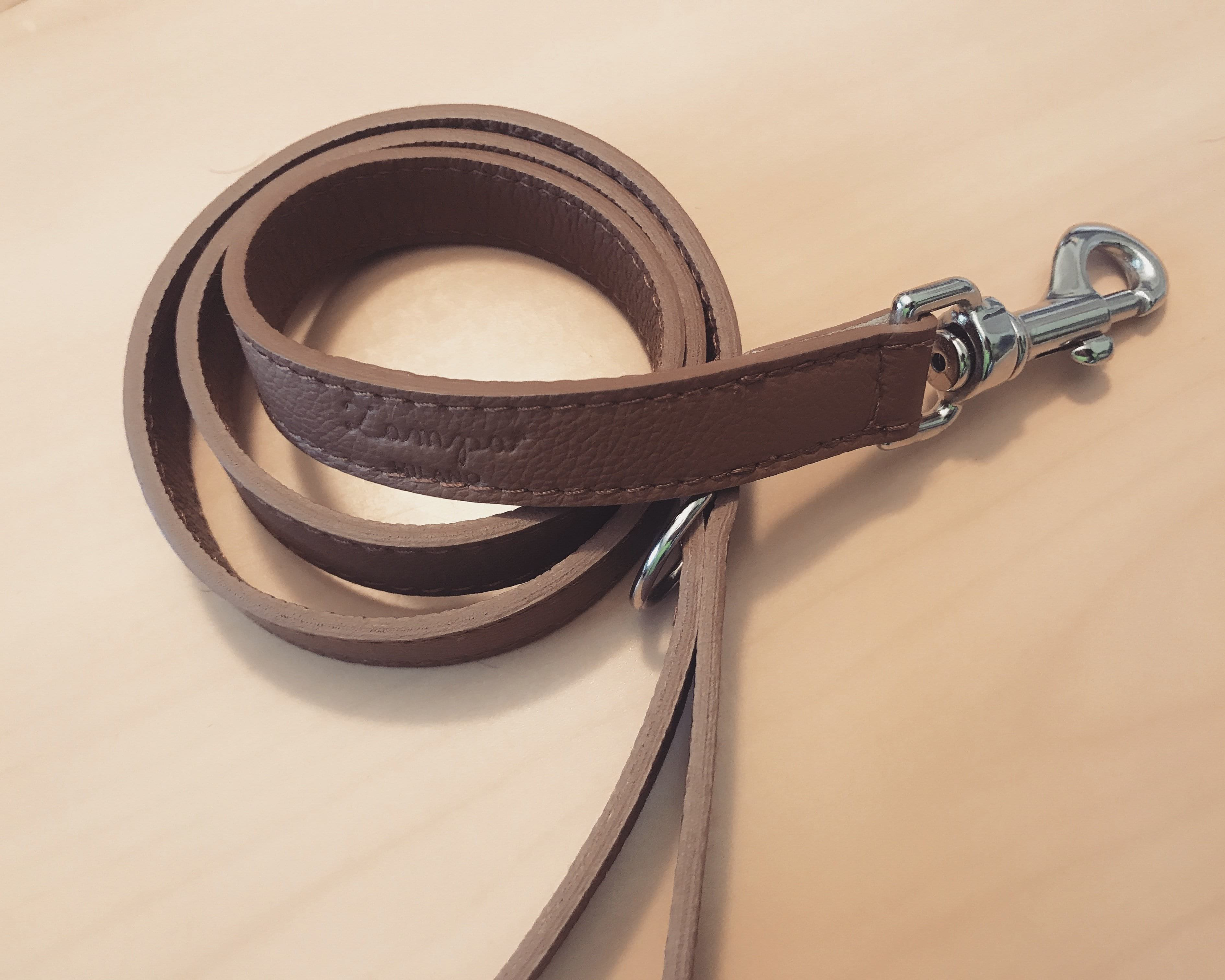 Zampa Milano | Camel Leather Leash