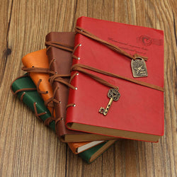 Retro Classic PU Leather Journal