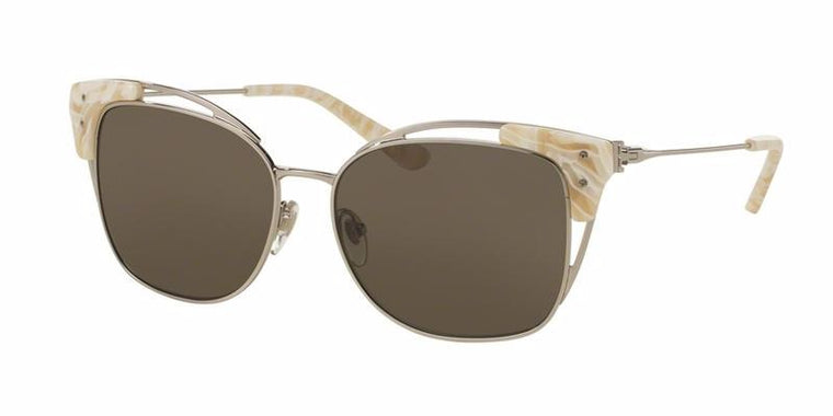 Tory Burch Metal Wire Ivory Sunglasses